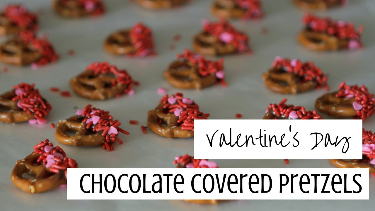 Valentine S Day Chocolate Covered Pretzels Babeskills