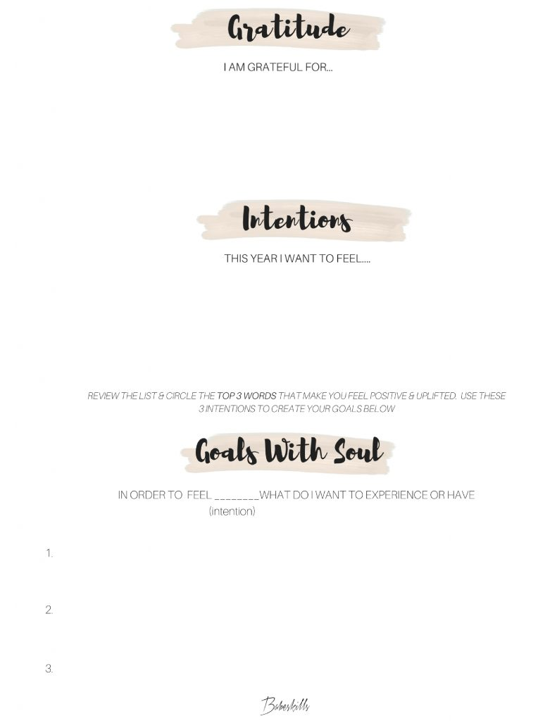 goals with soul  the difference between resolutions and intentions