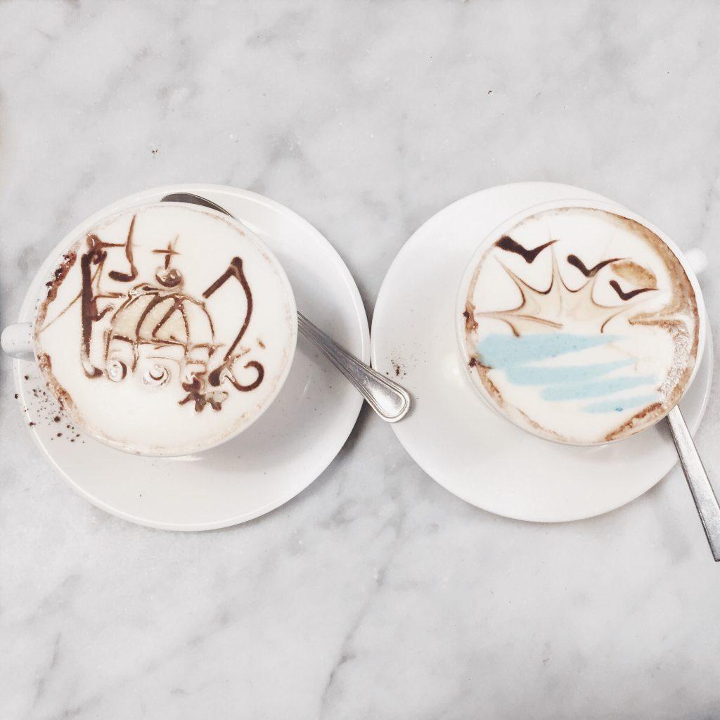 cappuccino art italy