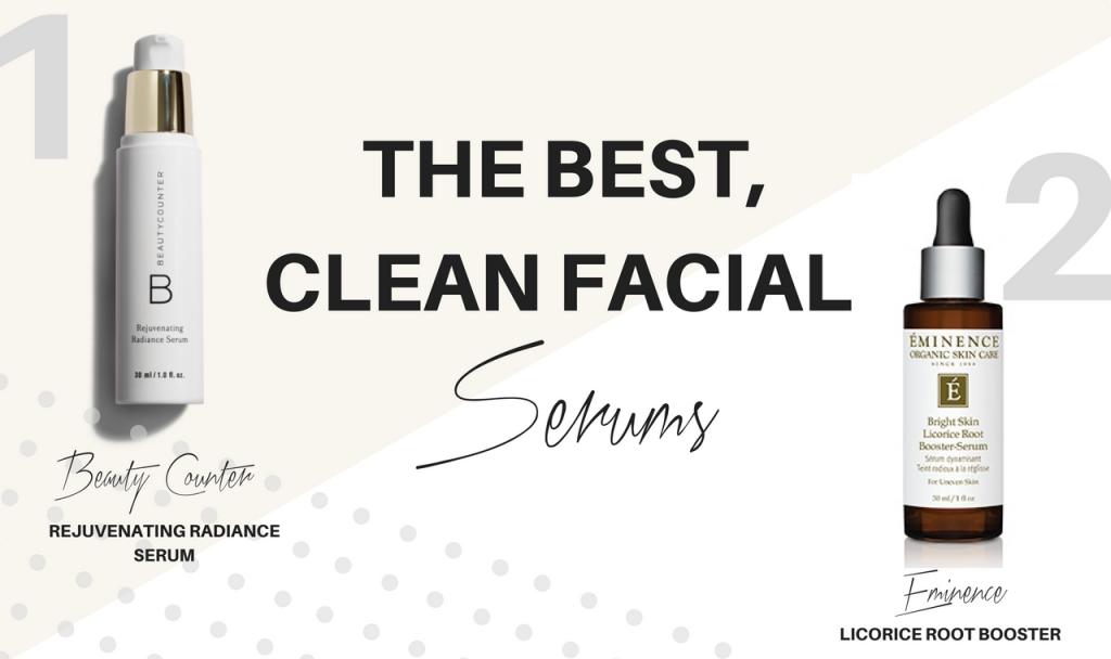 clean facial serums